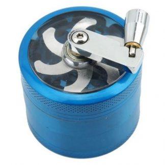 4 Piece Lever Grinder (Blue)